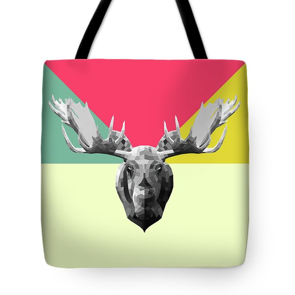 Party Moose Tote Bag