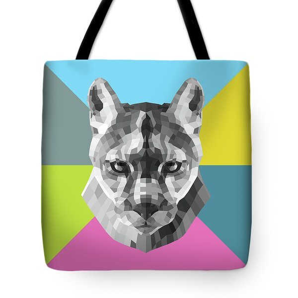 Party Mountain Lion Tote Bag