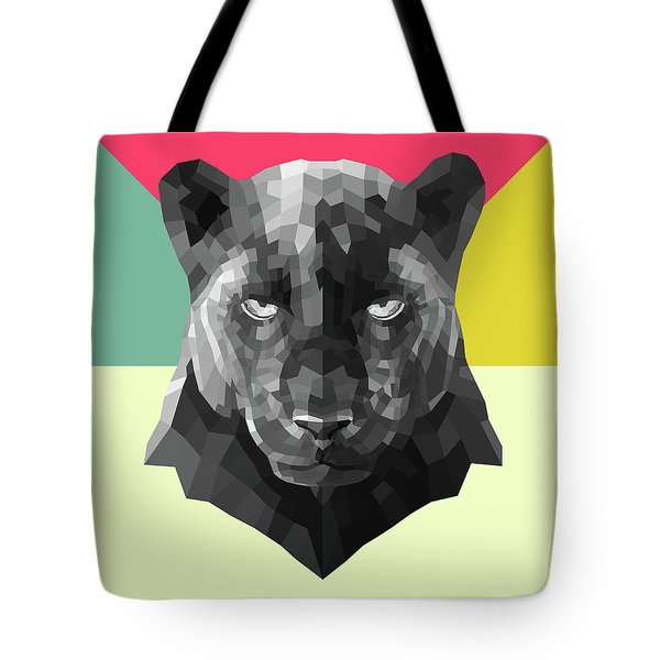 Party Panther Tote Bag
