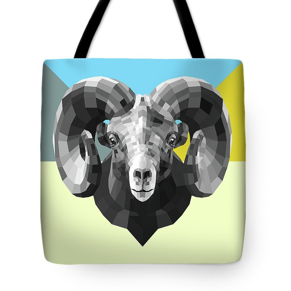 Party Ram Tote Bag