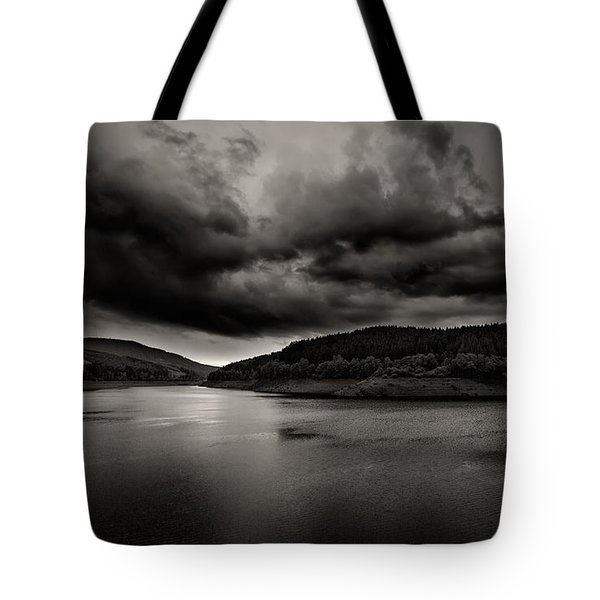 Tote Bag featuring the photograph Passing Rainstorm by Bernd Laeschke