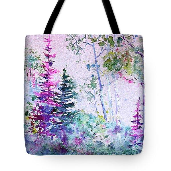 Pastel Aspen Tote Bag
