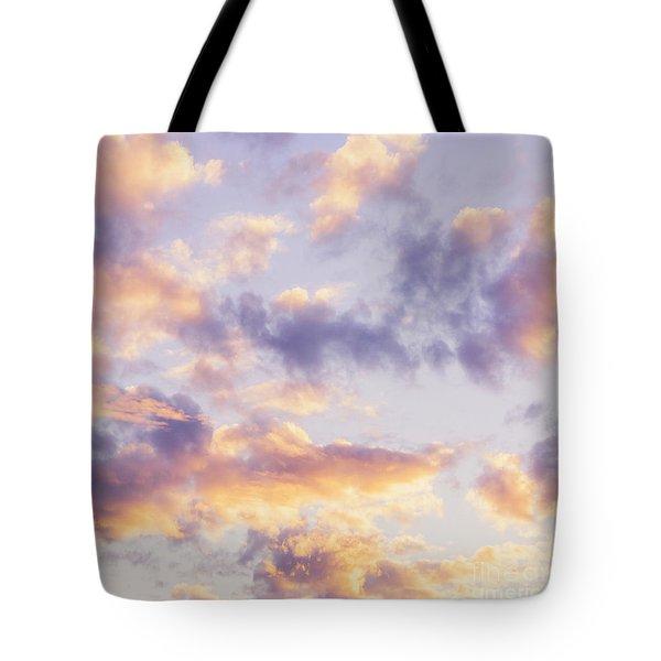 Pastel Cloudscape Tote Bag