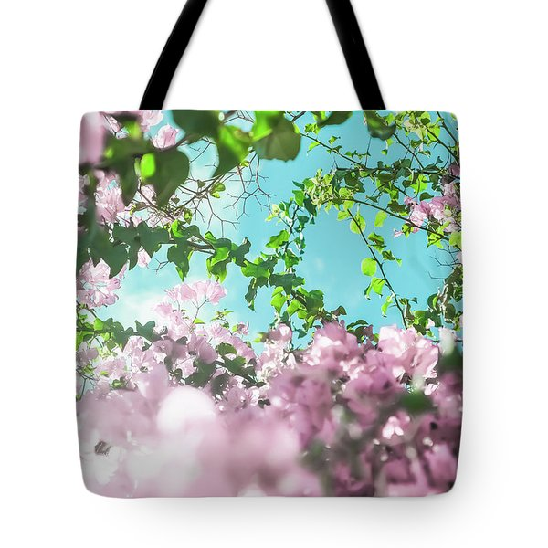 Tote Bag featuring the photograph Floral Dreams II by Anne Leven