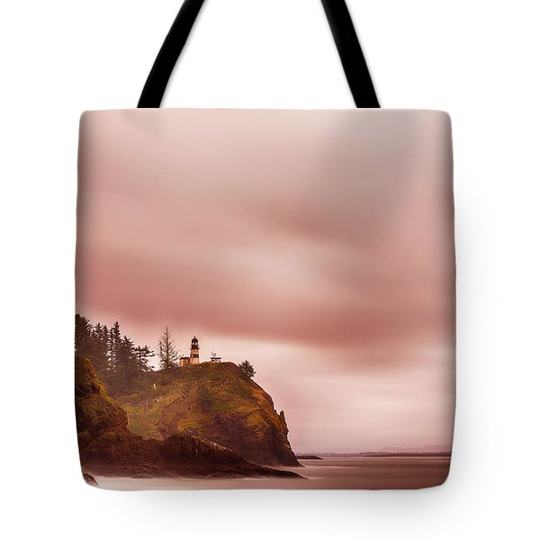 Pastel Seascape Tote Bag