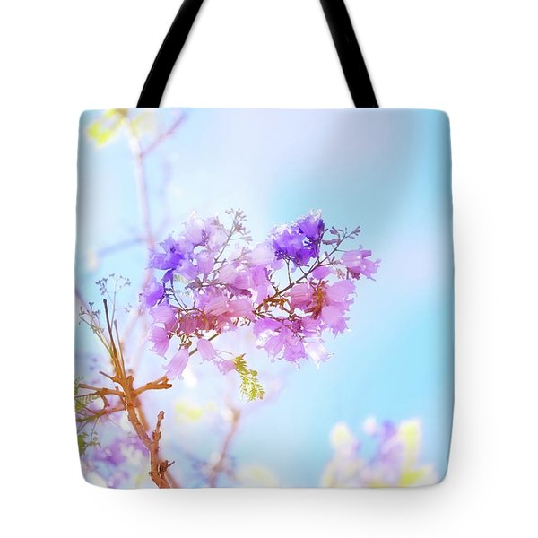 Pastels In The Sky Tote Bag