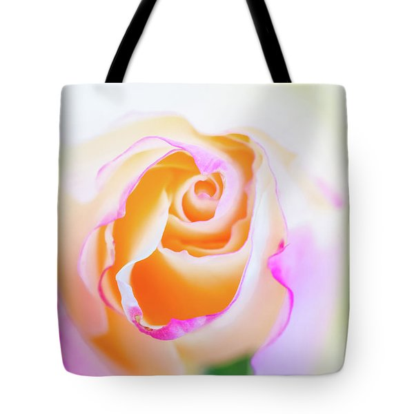 Tote Bag featuring the photograph Pastels by Laura Roberts