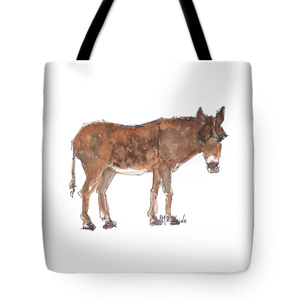 Pasture Boss 2015 Watercolor Painting By Kmcelwaine Tote Bag