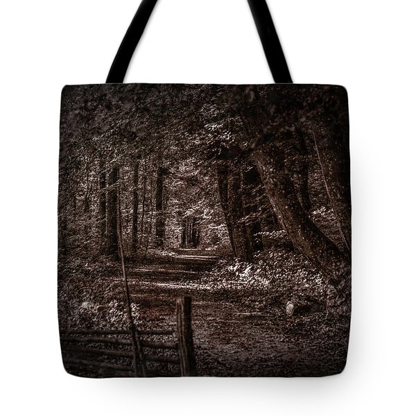 Path In Forest #i0 Tote Bag