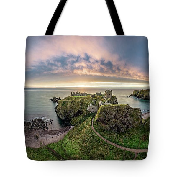 Path To Dunnottar Castle Tote Bag