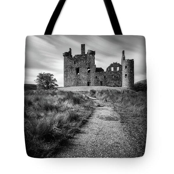 Path To Kilchurn Castle Tote Bag