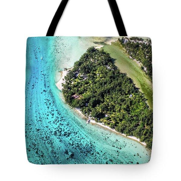 Bora Bora - Pathway To The Ocean Tote Bag