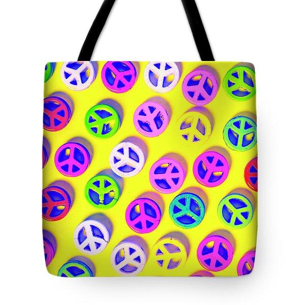 Patterning Peace Tote Bag