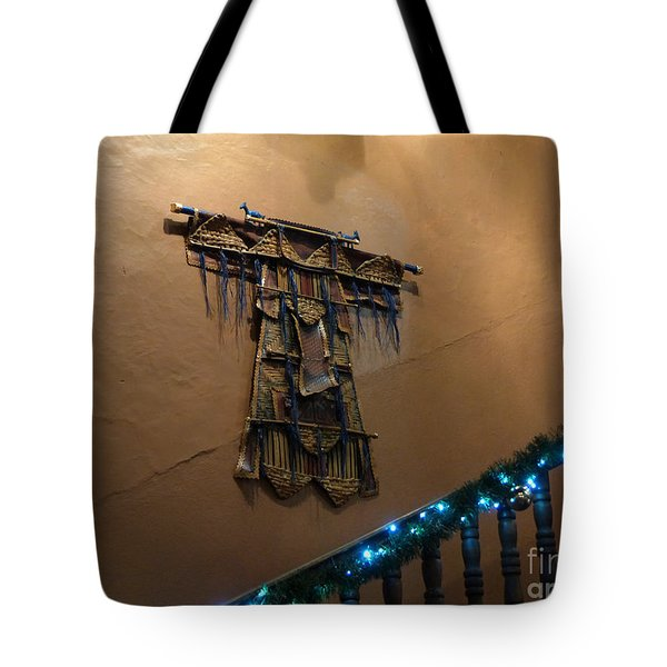 Tote Bag featuring the photograph Patzcuaro Wall Hanging by Rosanne Licciardi