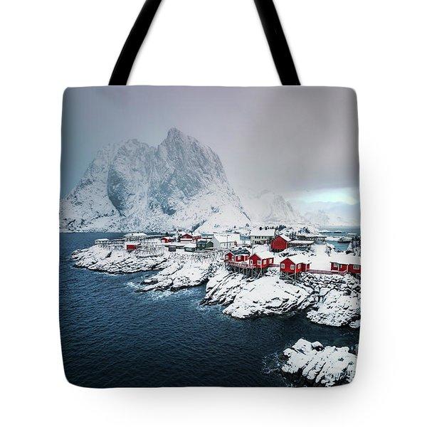 Peace Of Winter Tote Bag