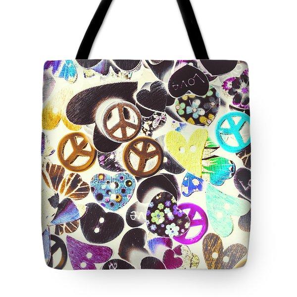 Peace Revival  Tote Bag