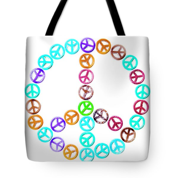 Peace United Tote Bag