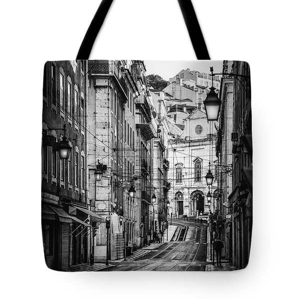 Peace Within  Bw Tote Bag
