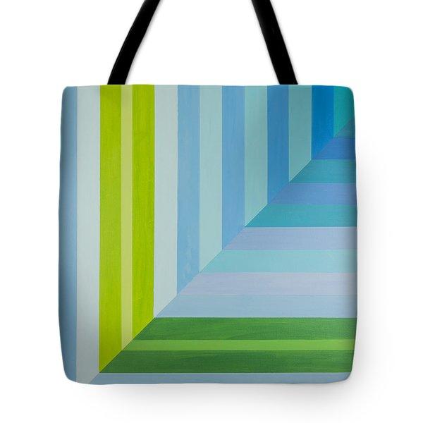 Peaceful Geometric Shade Tote Bag