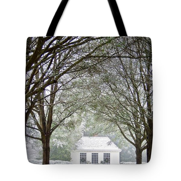 Peaceful Holiday Tote Bag