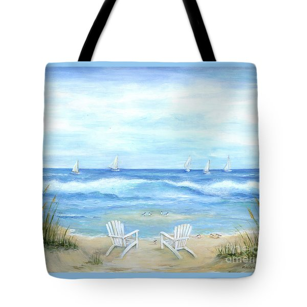 Peaceful Seascape Tote Bag