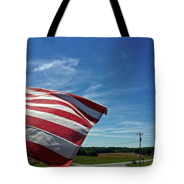 Tote Bag featuring the photograph Peaceful Summer Day by Carol Whaley Addassi