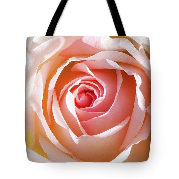 Soft As A Rose Tote Bag