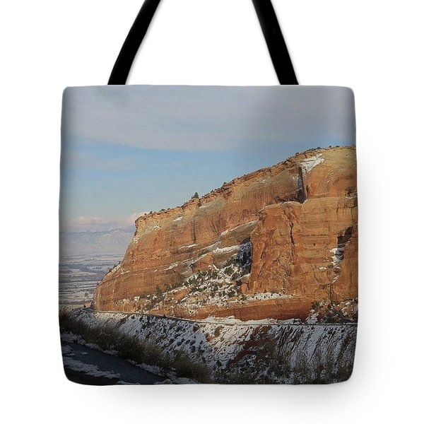 Peak-a-boo Canyon Tote Bag