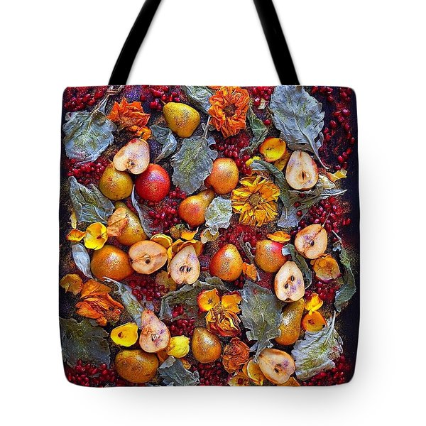 Pear Livable Tapestry Tote Bag