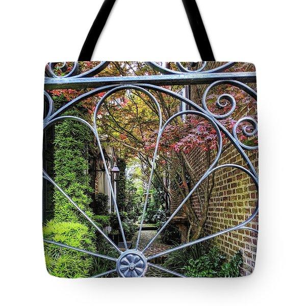 Peek-a-boo Garden Tote Bag