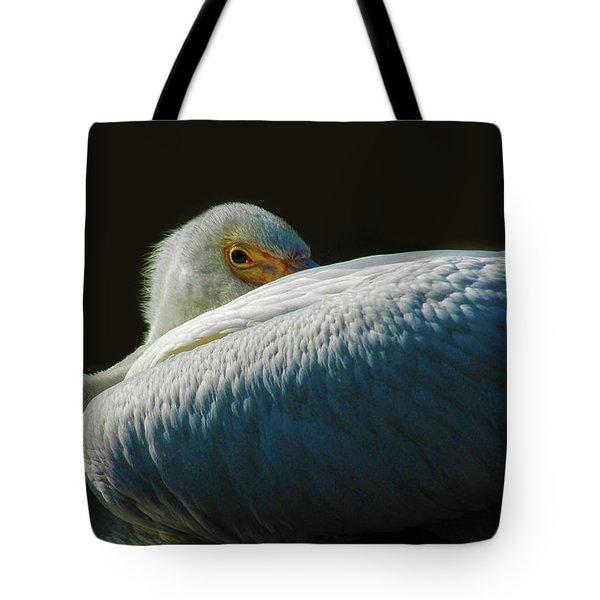 Peeking Tote Bag