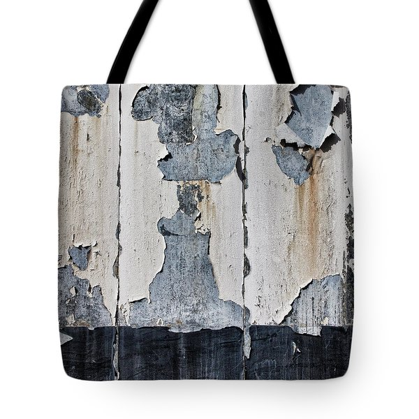 Peeling Paint And Shadows Tote Bag