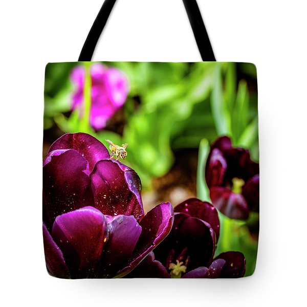 Peering Into The Deep Tote Bag