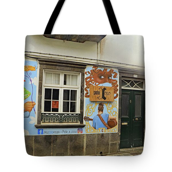 Tote Bag featuring the photograph Pele Osso by Tony Murtagh