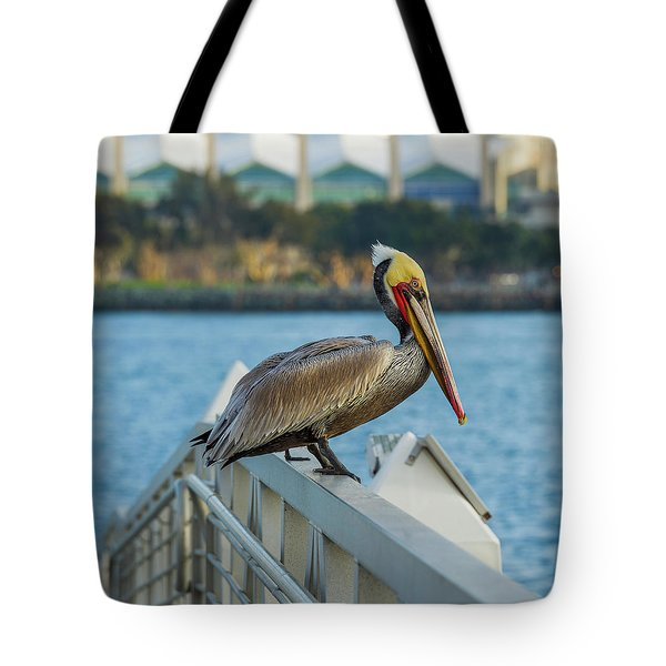 Peli-can Or Can't? Tote Bag
