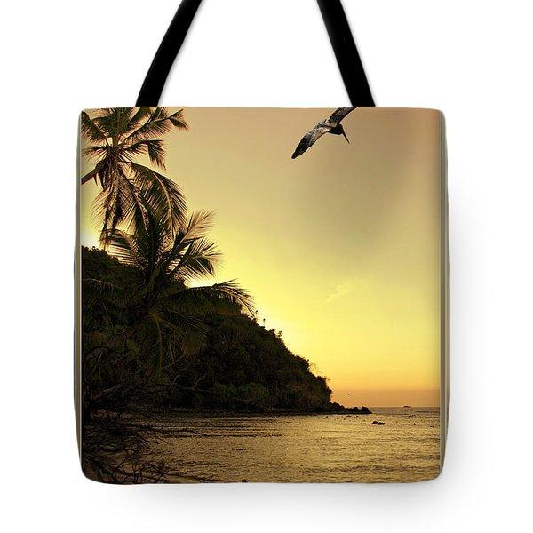 Pelican Sundown Tote Bag
