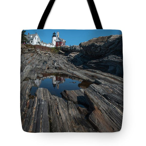 Tote Bag featuring the photograph Pemaquid Lighthouse by Rick Hartigan