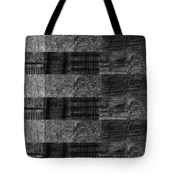 Pencil Scribble Texture 1 Tote Bag