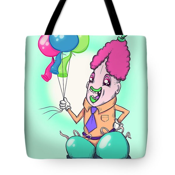 Penis Clown Tote Bag