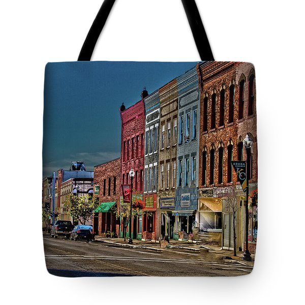 Tote Bag featuring the photograph Penn Yan by William Norton