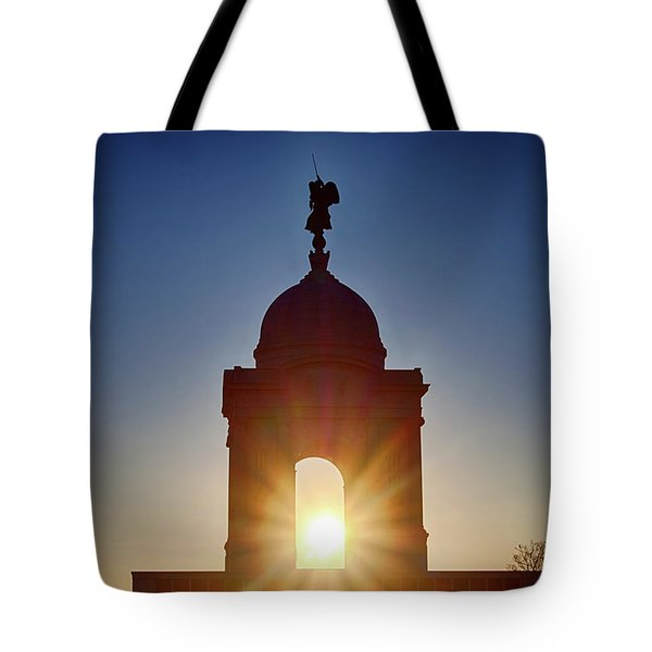 Pennsylvania State Monument Tote Bag
