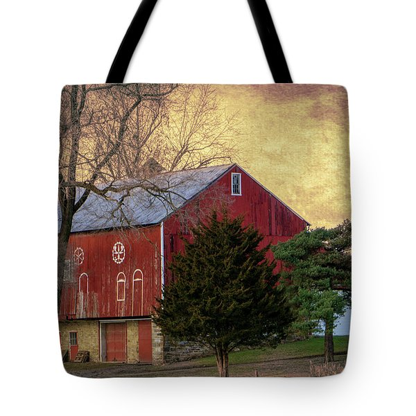 Pennsylvania Vintage Barn  Tote Bag