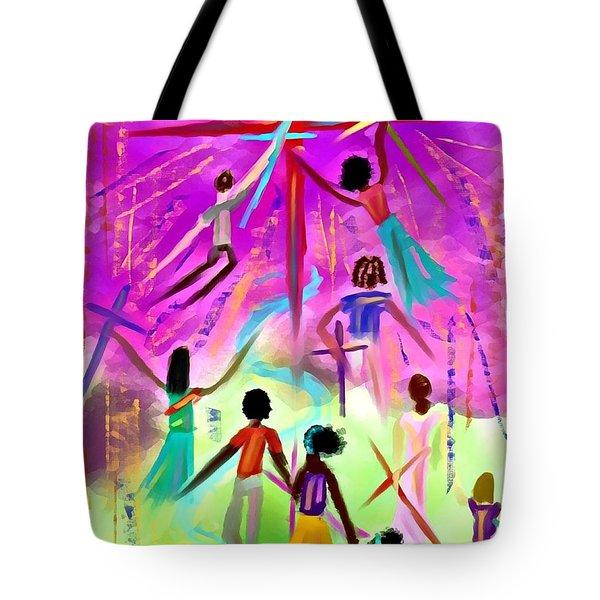 People Of The Cross Tote Bag