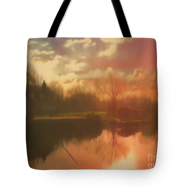 Tote Bag featuring the photograph Perchance To Dream by Leigh Kemp