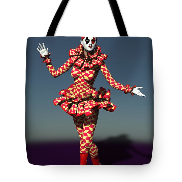 Perched Of Pierrette Tote Bag