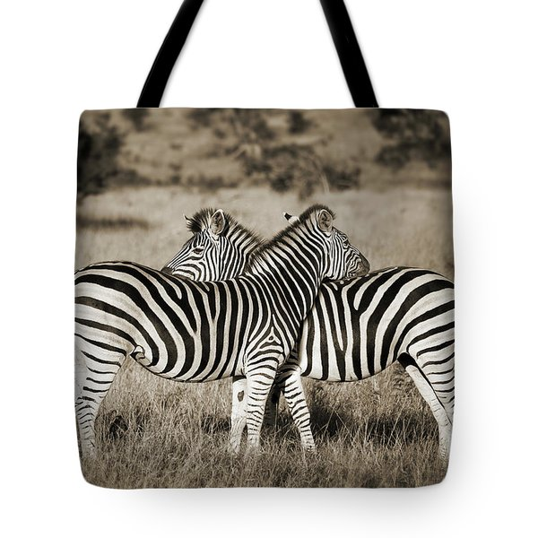 Perfect Zebras Tote Bag