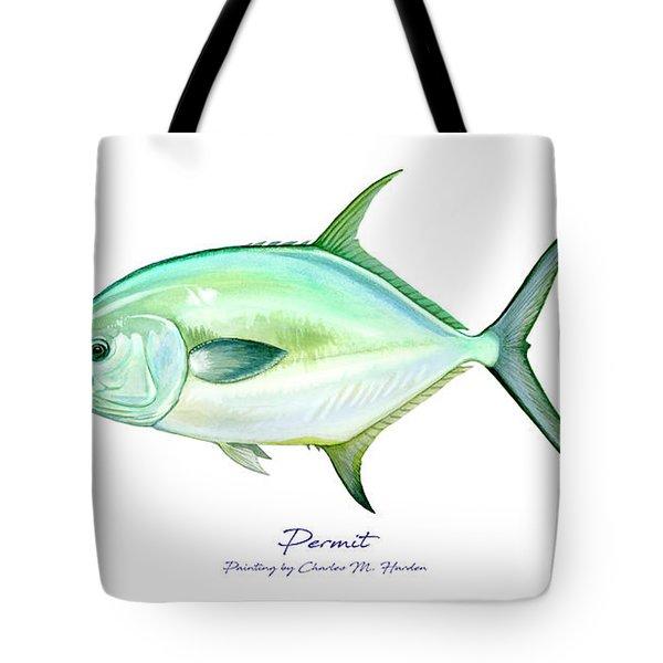Permit Tote Bag
