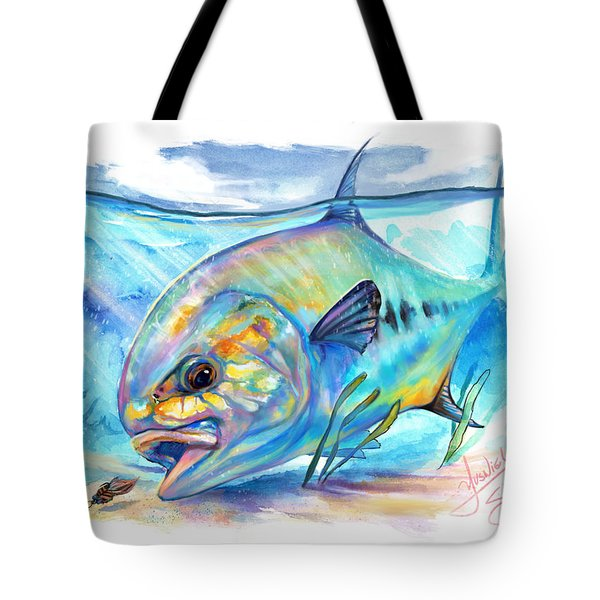 Permit To Fly Tote Bag