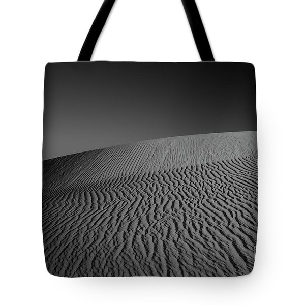 Perry Sandhills Black And White Tote Bag