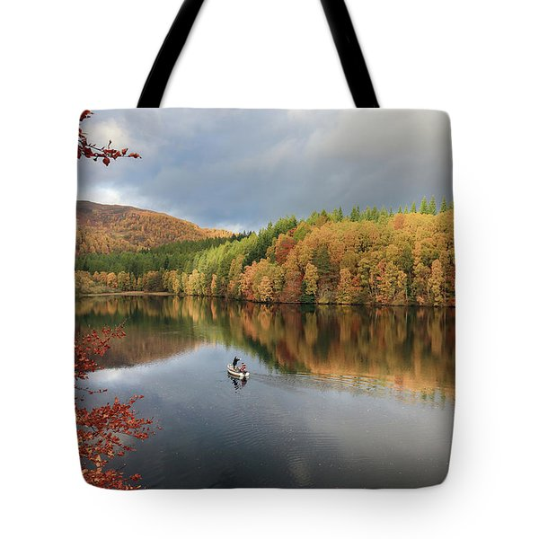 Perthshire Autumn Tote Bag